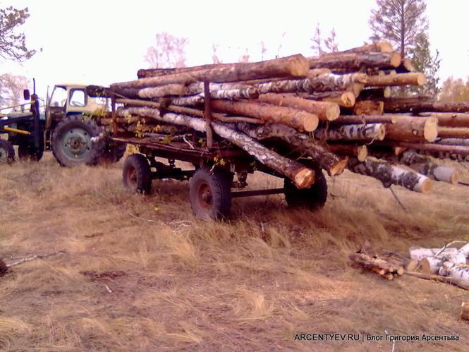 колка дров фото